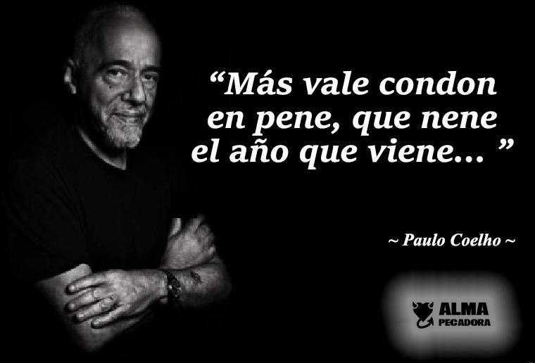 Paulo Coelho y sus clases de natalidad