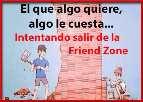 Intentando salir de la Friend Zone
