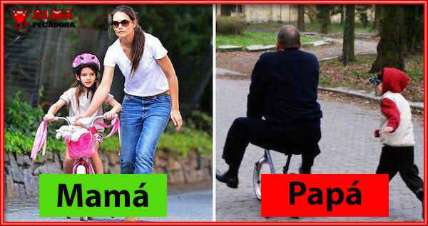 Mama versus Papa