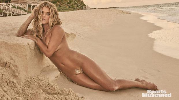 La Modelo Nina Agdal Desnuda En La Playa Top Model Nina Agdal Nude