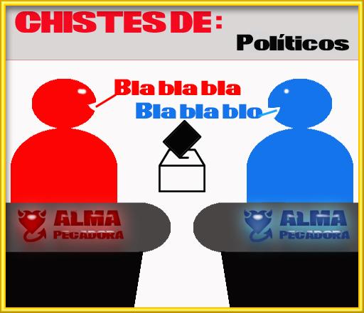 Chistes de política y de políticos