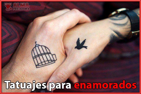 Tatuajes para parejas con humor