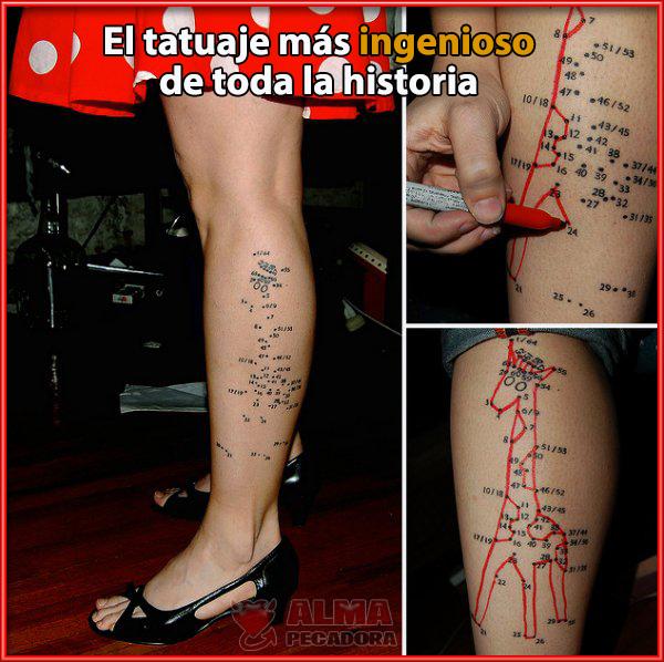 El tatuaje más divertido de toda la historia