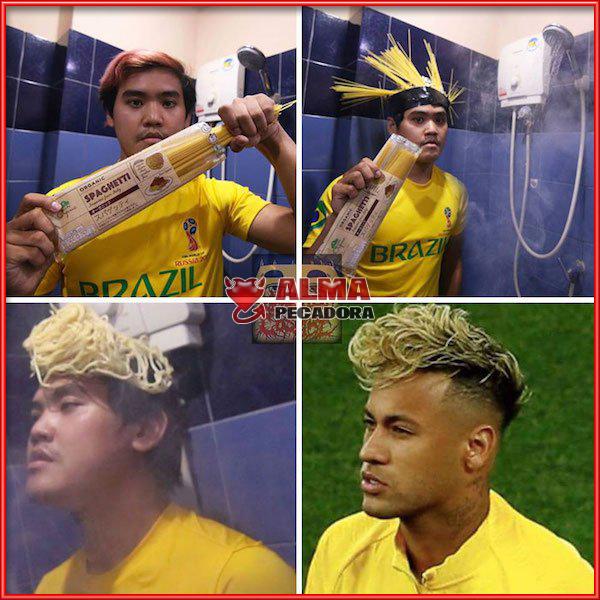 Como hacerte el peinado de Neymar en el Mundial de Rusia de forma fácil y económica