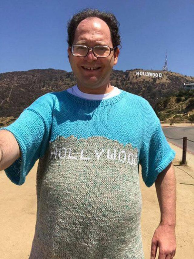 Con el jersey de Hollywood no creo que le den muchos Oscars