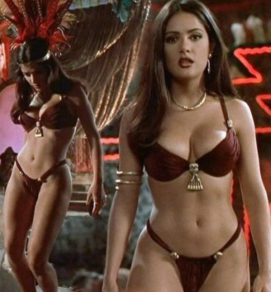 Salma Hayek - Dusk Till Dawn - Snake dancing hot and sensual