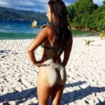 La polémica concursante de la Isla de las Tentaciones Fani en tanga luciendo culazo